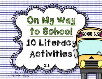 McGraw Hill Wonders 1st Grade On My Way to School {10 Lite