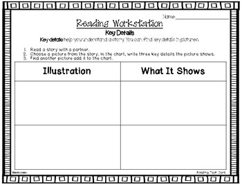 McGraw-Hill Reading Wonders 1st Grade Reading Workstation Card Printables