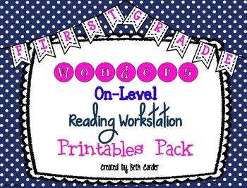 McGraw-Hill Reading Wonders 1st Grade Reading Workstation