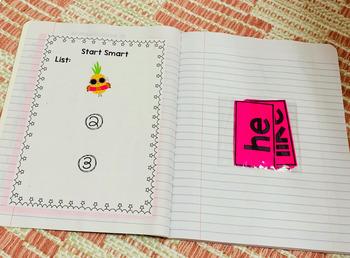 McGraw-Hill Wonders 1st Grade Sight Word Notebook