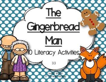 McGraw Hill Wonders 1st Grade The Gingerbread Man 3.3 {10 Literacy Activities}