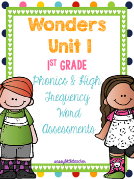 McGraw Hill Wonders 1st Grade Unit 1 Phonics & High Freque
