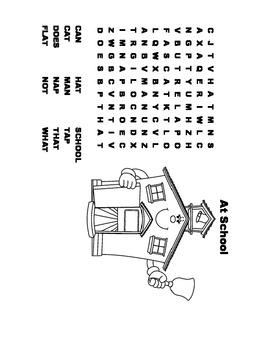 McGraw Hill Reading Wonders © 1st Grade Unit 1 Week 1 Worksheets