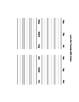 McGraw Hill Reading Wonders © 1st Grade Unit 1 Week 4 Worksheets