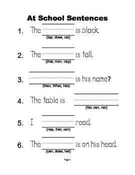 McGraw Hill Reading Wonders © 1st Grade Unit 1 Weeks 1-5 Worksheets