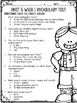 McGraw Hill Wonders 1st Grade Unit 5 Vocabulary Tests
