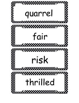 McGraw Hill Wonders 1st Grade Vocabulary Unit 6