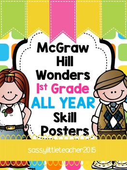 McGraw Hill Wonders 1st Grade Posters for the YEAR