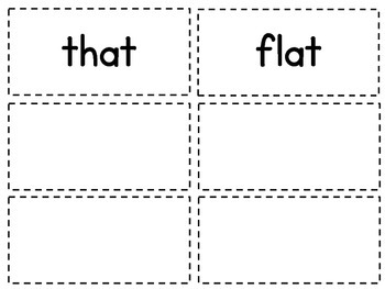 McGraw-Hill Wonders 1st grade Spelling Word Cards-Units 1-6