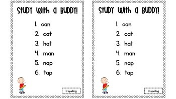 "McGraw-Hill Wonders 1st grade ""Study With a Buddy"" activity"