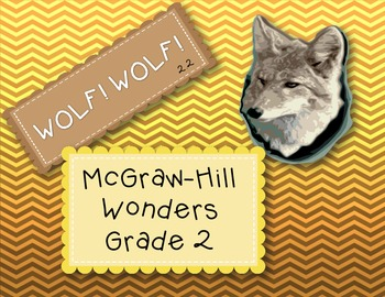 McGraw-Hill Wonders 2nd Grade 2.2 Wolf! Wolf! {6 Literacy Activities}