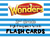 McGraw Hill Wonders 2nd Grade High-Frequency Words