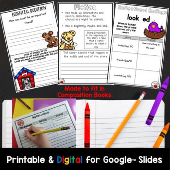 Wonders 2nd Grade Interactive Journal Unit 1 BUNDLE