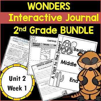 Wonders 2nd Grade Interactive Journal Unit 2 -Week 1