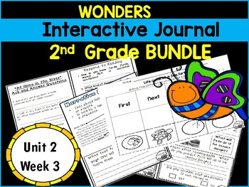 McGraw Hill Wonders 2nd Grade Interactive Journal Unit 2 Week 3