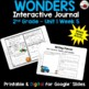 Wonders 2nd Grade Interactive Journal Unit 1 -Week 5