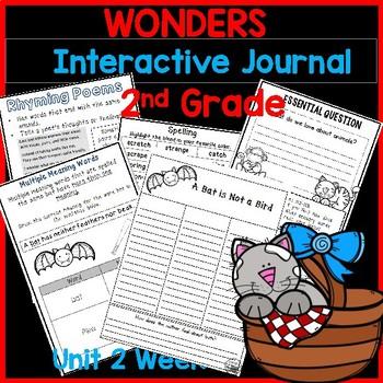 McGraw Hill Wonders 2nd Grade Interactive Journal Unit 2 -Week 5
