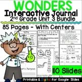 Wonders 2nd Grade Interactive Journal Unit 3 BUNDLE