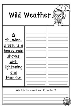 McGraw Hill Wonders 2nd Grade Interactive Journal Unit 3 -Week 4