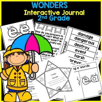 McGraw Hill Wonders 2nd Grade Interactive Journal Unit 3 -Week 4