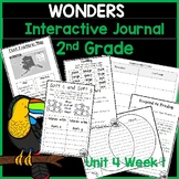 McGraw Hill Wonders 2nd Grade Interactive Journal Unit 4- Week 1