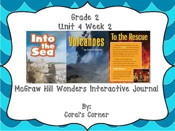 McGraw Hill Wonders 2nd Grade Interactive Journal Unit 4 -Week 2