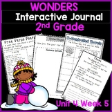 McGraw Hill Wonders 2nd Grade Interactive Journal Unit 4- Week 5