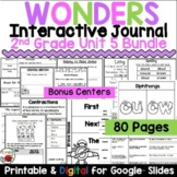 Wonders 2nd Grade Interactive Journal Unit 5 BUNDLE