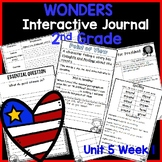 McGraw Hill Wonders 2nd Grade Interactive Journal Unit 5- Week 1