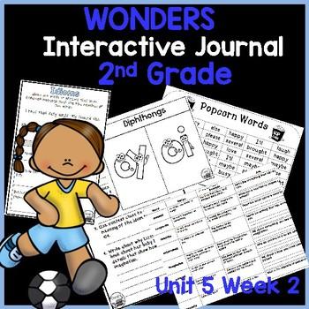 McGraw Hill Wonders 2nd Grade Interactive Journal Unit 5-Week 2