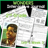 McGraw Hill Wonders 2nd Grade Interactive Journal Unit 5- Week 3