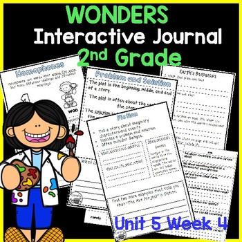 McGraw Hill Wonders 2nd Grade Interactive Journal Unit 5-Week 4