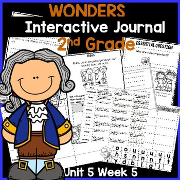 McGraw Hill Wonders 2nd Grade Interactive Journal Unit 5- Week 5