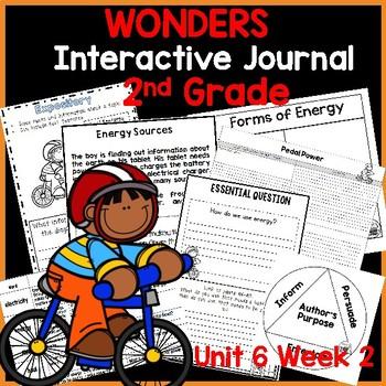 McGraw Hill Wonders 2nd  Grade Interactive Journal Unit 6- Week 2