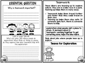 McGraw Hill Wonders 2nd  Grade Interactive Journal Unit 6- Week 3
