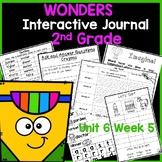 Wonders 2nd Grade Interactive Journal Unit 6- Week 5