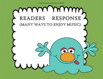 Many Ways to Enjoy Music - Tri Folds + Activities