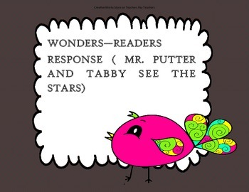 Mr Putter & Tabby See the Stars - TriFolds + Activities