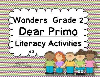 McGraw Hill Wonders 2nd Grade Unit 4 Story 3 DEAR PRIMO {8