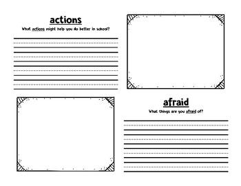 McGraw Hill Wonders 2nd Grade Weekly Vocabulary Notebooks - Unit 1