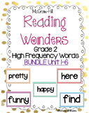 WONDERS 2nd grade High Frequency (sight words) ALL YEAR