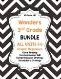 McGraw-Hill Wonders 3rd Grade ALL Units 1-6 Reading Strategies BUNDLE