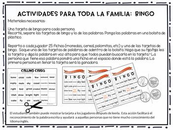McGraw- Hill    Wonders  3rd Grade Bingo    Unit 1    Week 1