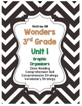 McGraw-Hill Wonders 3rd Grade Unit 1 Story Skills Pack