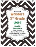 McGraw-Hill Wonders 3rd Grade Unit 1 Reading Strategies Story Skills Pack