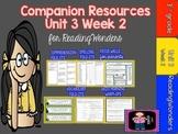 Reading Wonders Unit 3 Week 2 MegaPack for Grade 3