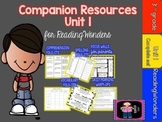 "Reading Wonders Unit 1 ""The Complete Set"" of Mega Pack Units for Grade 3"