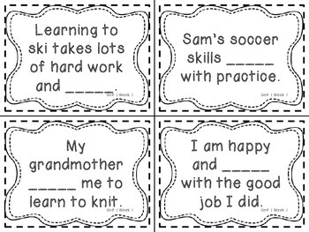 Wonders Grade 3: Unit 1 Vocabulary Games