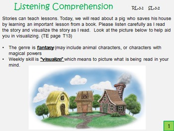 McGraw Hill Wonders 3rd Gr Unit 1, Week 1 Power Point and