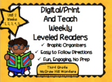 McGraw Hill Wonders 3rd Grade Unit 2 Print and Teach Leveled Readers